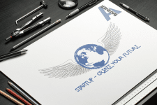 """Логотип """"Startup"""""""