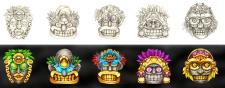 Символы Майя 2