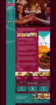 Trotters Trinidad & Tobago - сайт ресторана