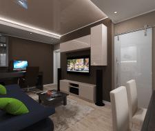 Дизайн проект квартиры 106 квм в Киеве