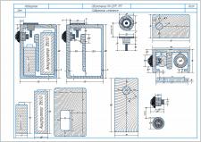 чертеж электроники из стабилизированного клёна