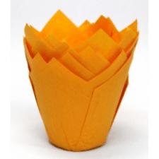 """Декор для капкейков """"Тюльпан"""" оранжевый"""