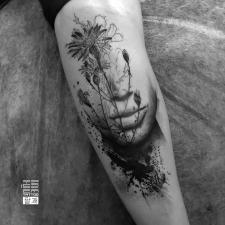 тату цветы квіти tattoo flowers