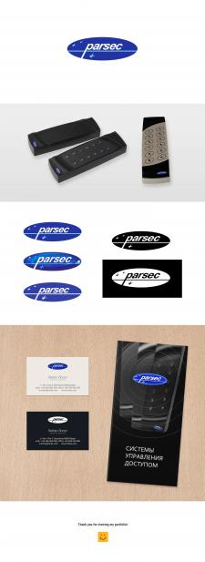 Разработка логотипа и брендинг для компании Parsec