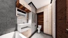 Дизайн проект ванної кімнати