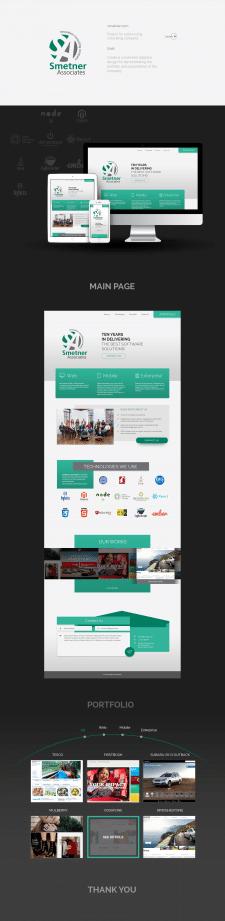 Адаптивный дизайн сайта для аутсорсной IT компании