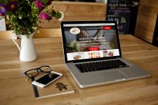 Макет редизайна сайта ресторана