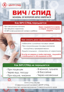 Плакаты про СПИД , Ставрополь