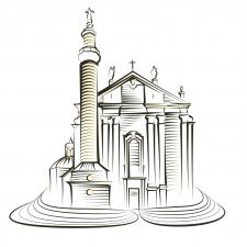 Архитектура в векторе