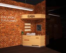 Визуализация торгового оборудования КАВА