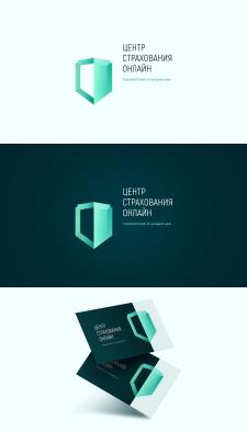 Дизайн логотипа «Центр Страхования Онлайн»