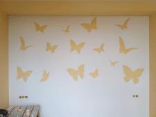 Роспись стен в в детской девочки