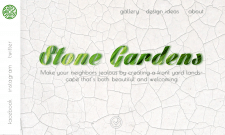 """Первый экран """"Stone Garden"""""""