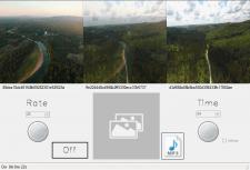 Накладывание изображений с изменением прозрачности