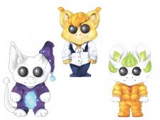 Создание персонажей в одном стиле