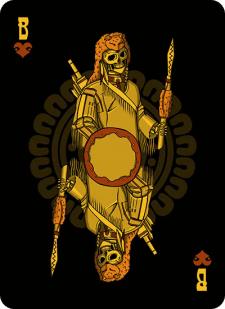 Spielkarten Indians- Skelette5
