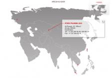 Интерактивная карта мира