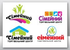 """Логотип тогового центра """"Сімейний"""""""