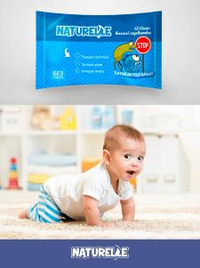 Дизайн упаковки салфеток
