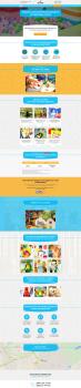 Дизайн сайта парка атракционов
