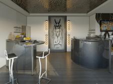 Моделирование кухни. котетдж