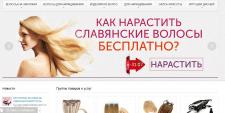 Аудит и продвижение интернет магазина волос.