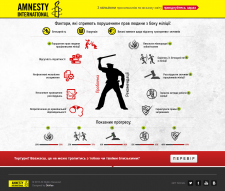 Промо проект для Amnesty Internation Ukraine