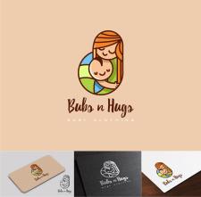 Bubs n Hugs cartoon website logo