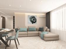 Дизайн квартиры для молодой пары в г. Запорожье