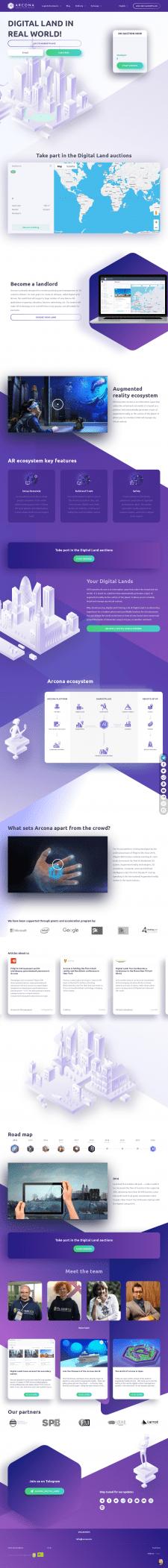Дизайн/Верстка Arcona.io
