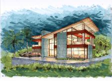 Дизайн-проект  современных домов в Новой Зеландии