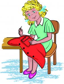 Ілюстрація до дитячої книги