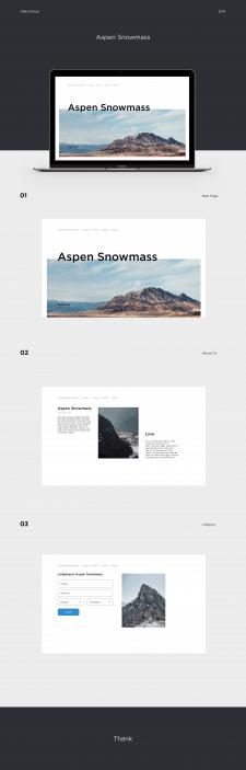 Aspen Snowmass website design.