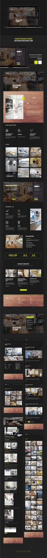 #Дизайн сайта мебельная студия