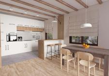 3д моделирование и визуализация кухни
