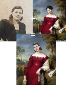 Вписка в портрет 1