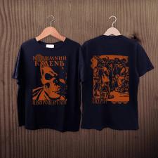 Дизайн футболок для групи Новимний Кудень