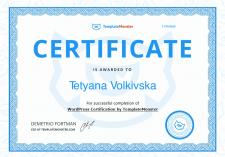 Certificate Wordpress