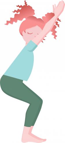 Yoga girl 6
