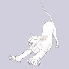 Иллюстрация, персонаж Кот)