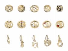 Коллекция ювелирных шармов 1