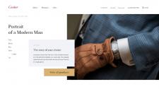 Интернет-магазин часов Cartier