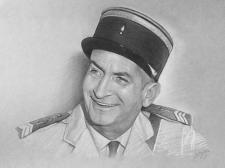 Портрет Луи де Фюнес