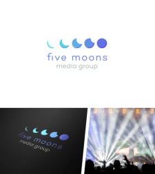 «Five moons media group» - нейминг и логотип