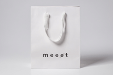 meeet - logotype for a restaurant