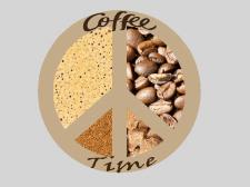 Логотип для передвижной кофейни