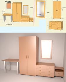 моделирование и визуальизация мебели