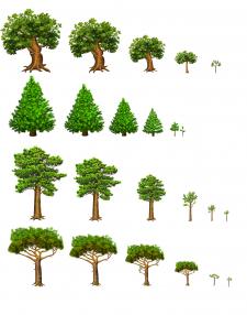 """Деревья для игры """"Дикие земли"""""""
