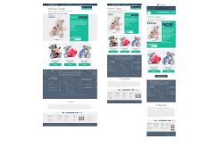Адаптивный дизайн для интернет магазина игрушек(т)