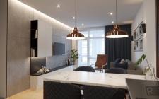 Дизайн квартири під оренду